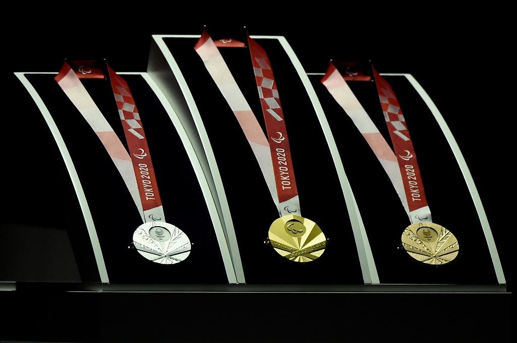 Tokyo 2020 unveils Paralympic medals design
