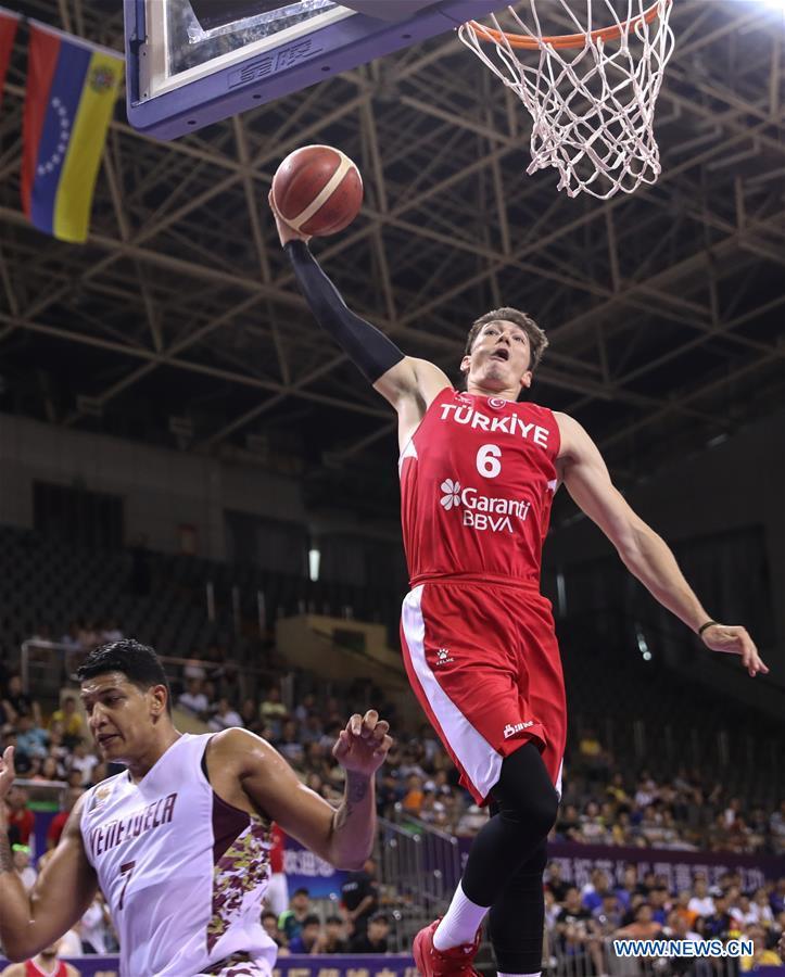 2019 Suzhou Int'l Basketball Challenge and Culture Week: Turkey vs. Venezuela