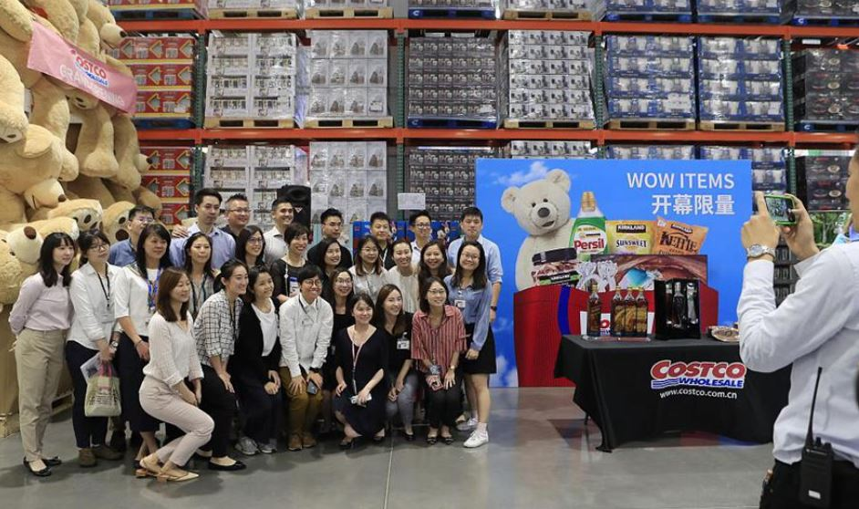 Costco launches first Chinese mainland store