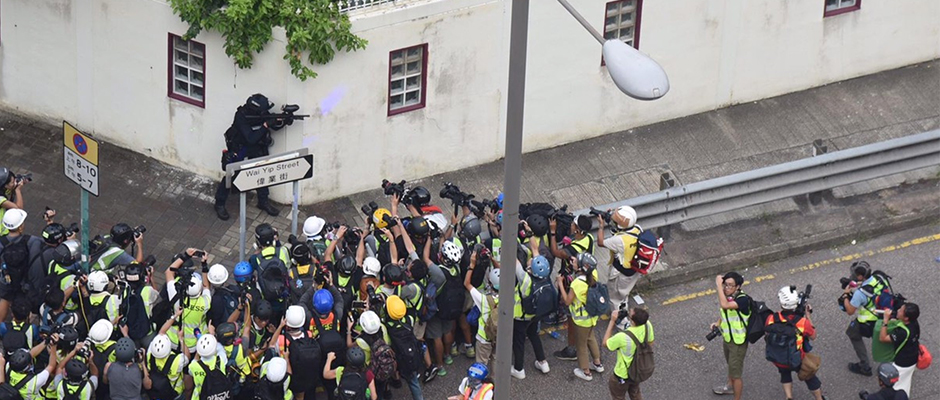 Media are giving HK rioters a free pass