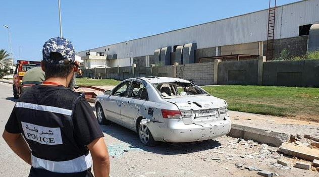 Libya's Mitiga airport suspends flights temporarily after attack