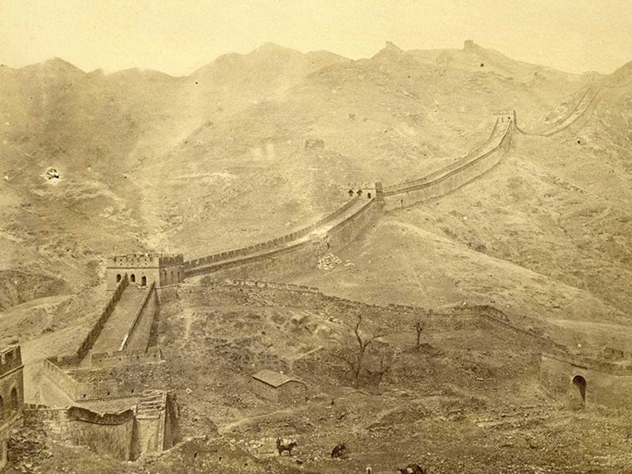 Historic images reveal 180 years of change in China