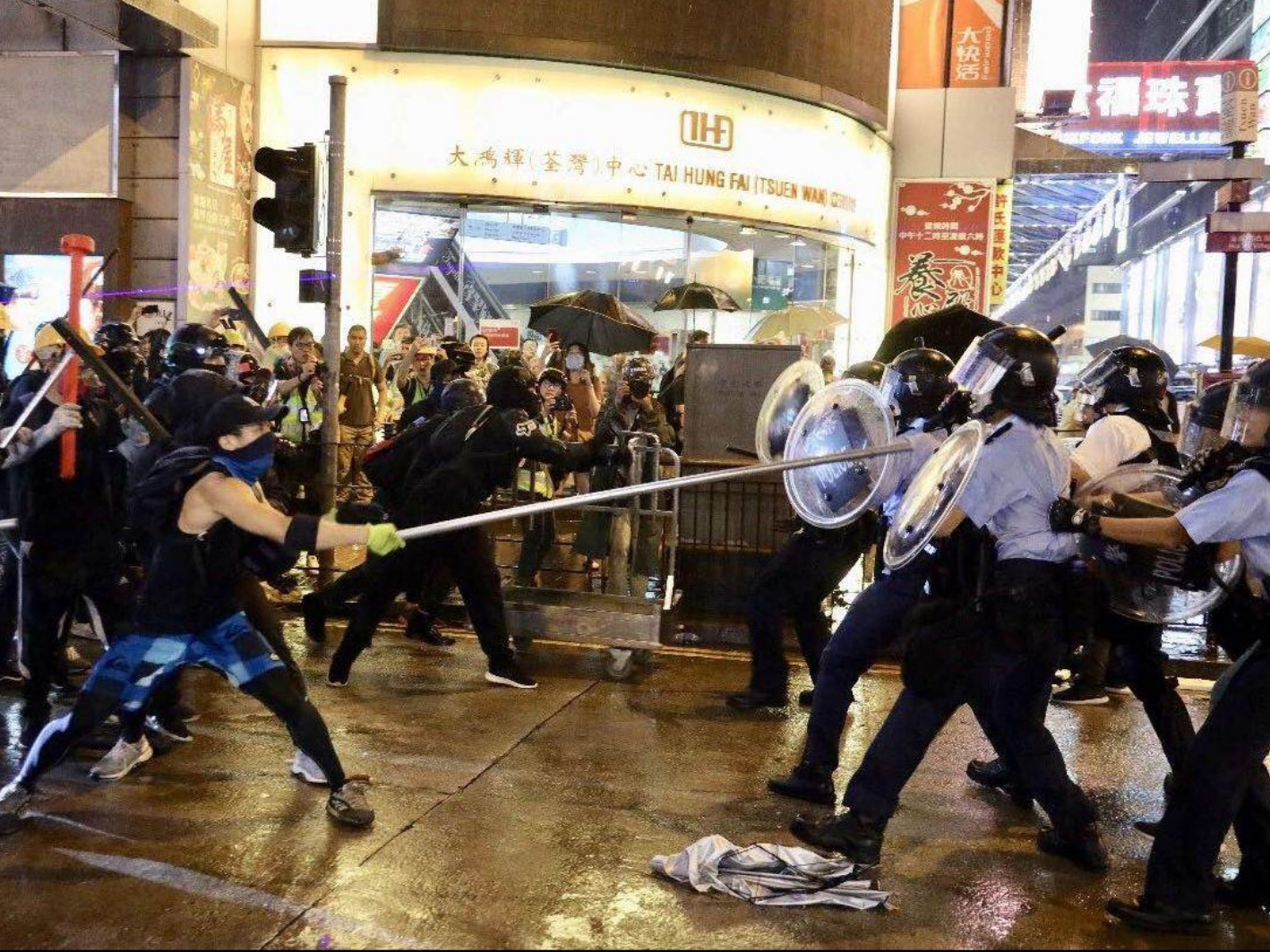Biased media distorts HK law enforcement narrative