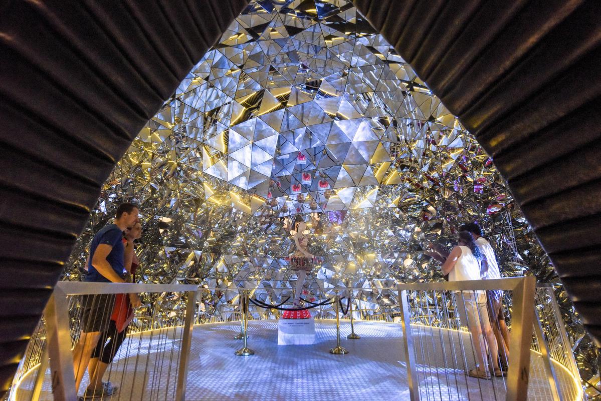 Glass enchantment captivates visitors to Swarovski Crystal Worlds