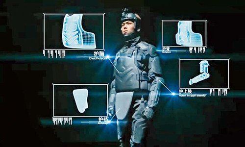 HK police order newly developed body armor from Guangzhou firm