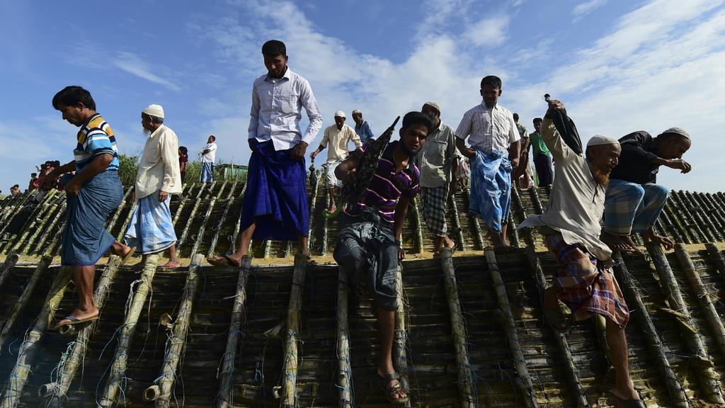 Rohingya rally in Bangladesh to mark two years since exodus