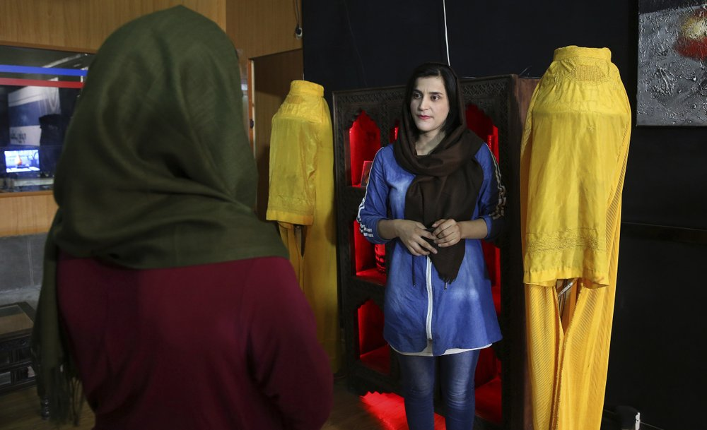 Young Afghan women barely remember Taliban but fear a return