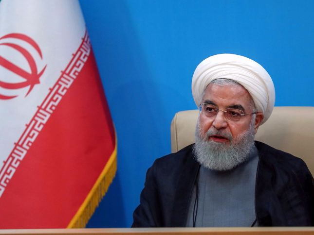 Iran's Rouhani rules out talks with US until sanctions lifted