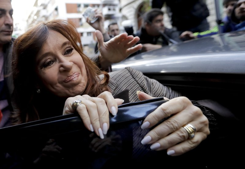 Argentine court decides not to suspend corruption case against ex-president Cristina Fernandez