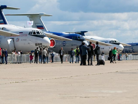 MAKS 2019 air show opens in Zhukovsky, Russia