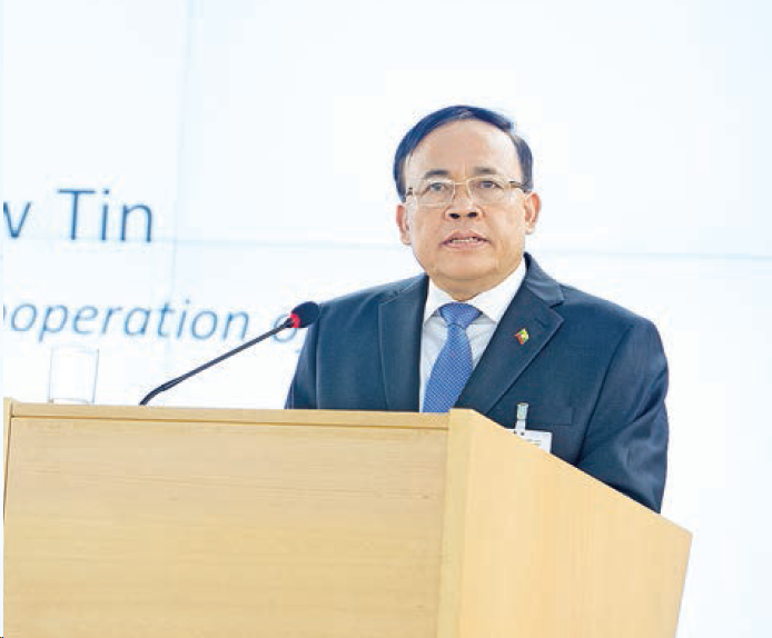 Myanmar Union Minister supports China's stance on Hong Kong riots