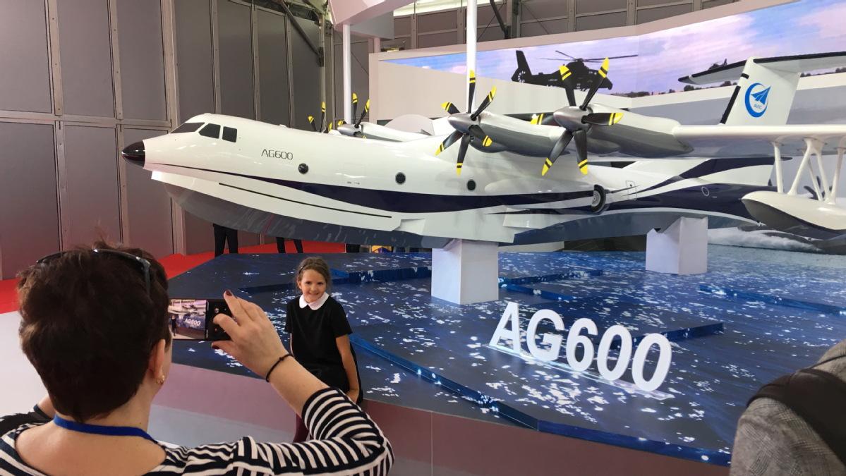 World's largest amphibious aircraft sets sights on international demand