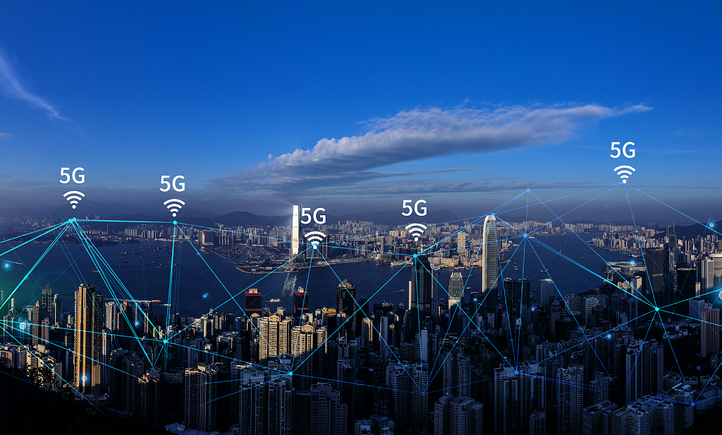 China to install over 50,000 5G base stations in 50 cities