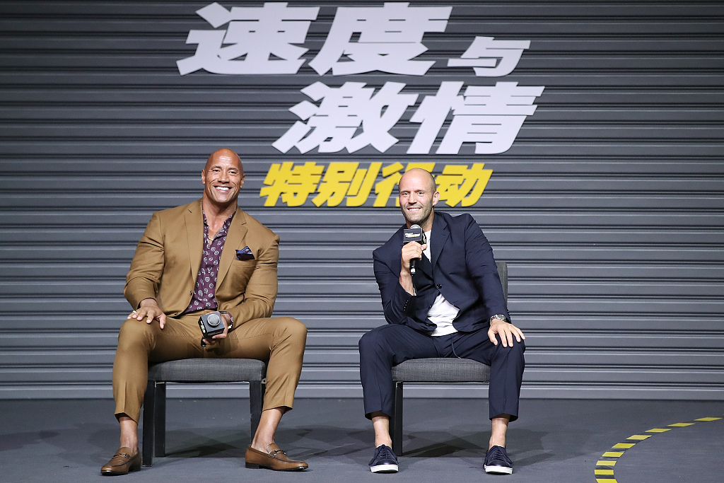New 'Fast and Furious' spin-off continues dominating Chinese mainland box office
