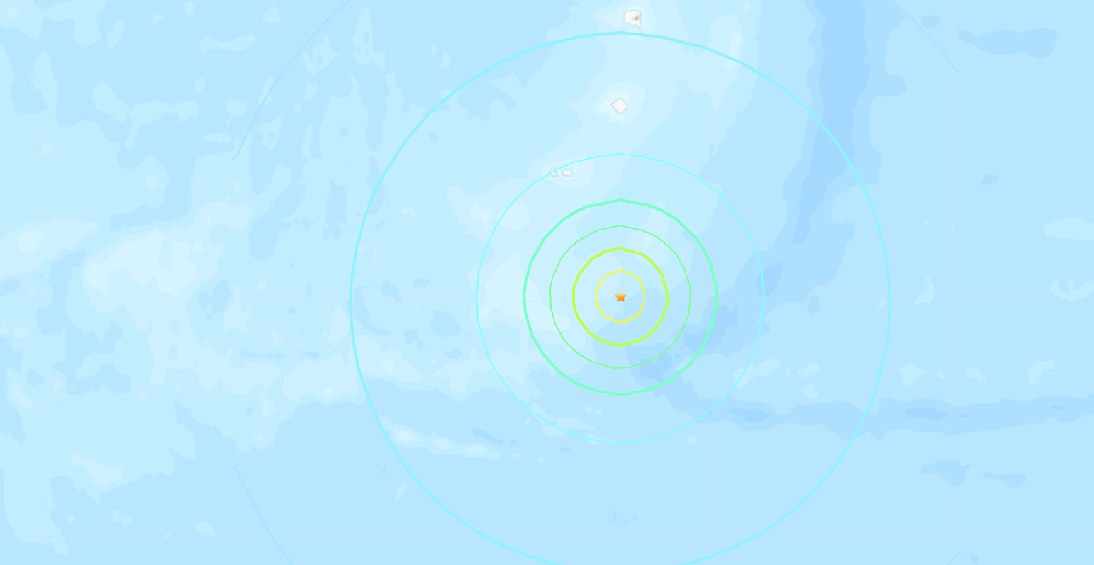 6.6-magnitude quake hits South Sandwich Islands -- USGS