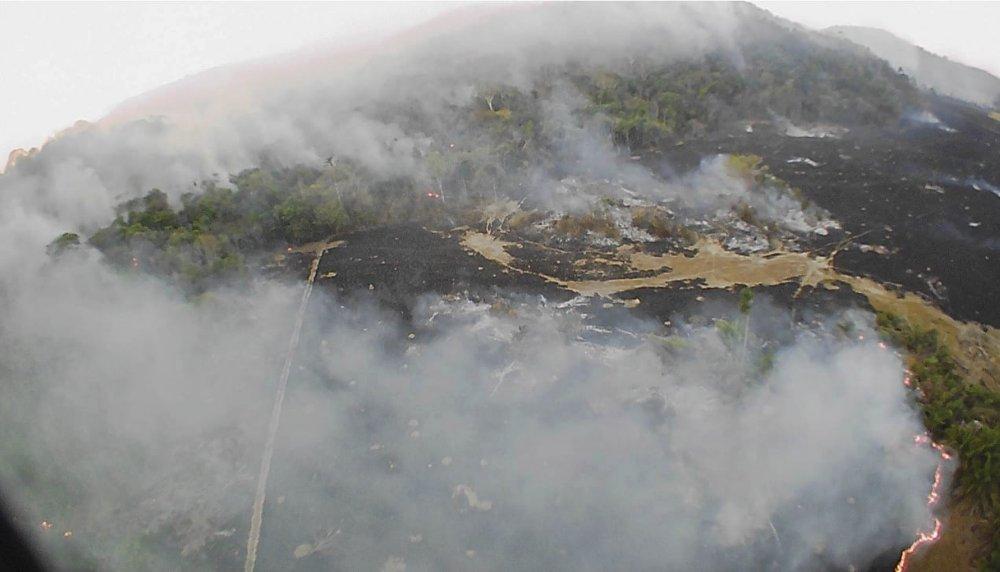 Brazil struggles to fight Amazon fire