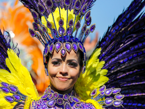 Notting Hill Carnival a parade of color in London