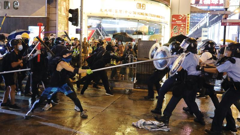 HK police warn of escalated violence, vow to bring all offenders to justice