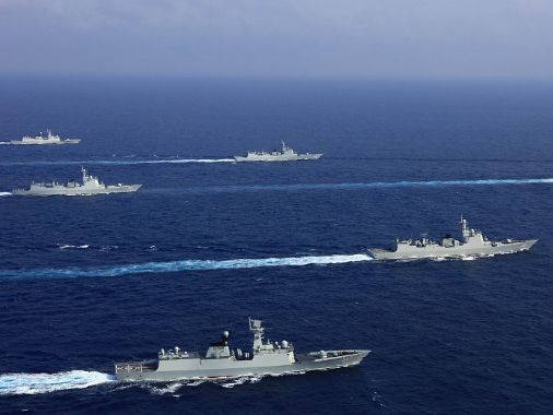Chinese military urges US to stop provocative actions in South China Sea