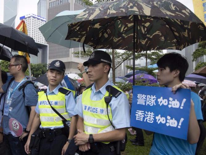 HK police invited for National Day celebrations in Beijing