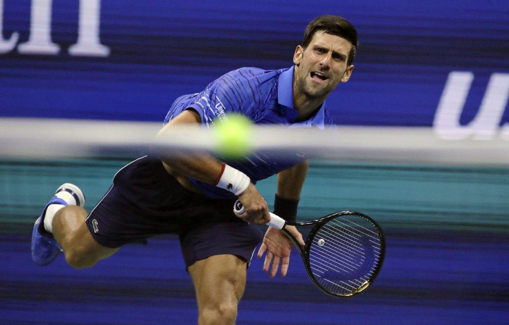 Djokovic bugged by shoulder in US Open win