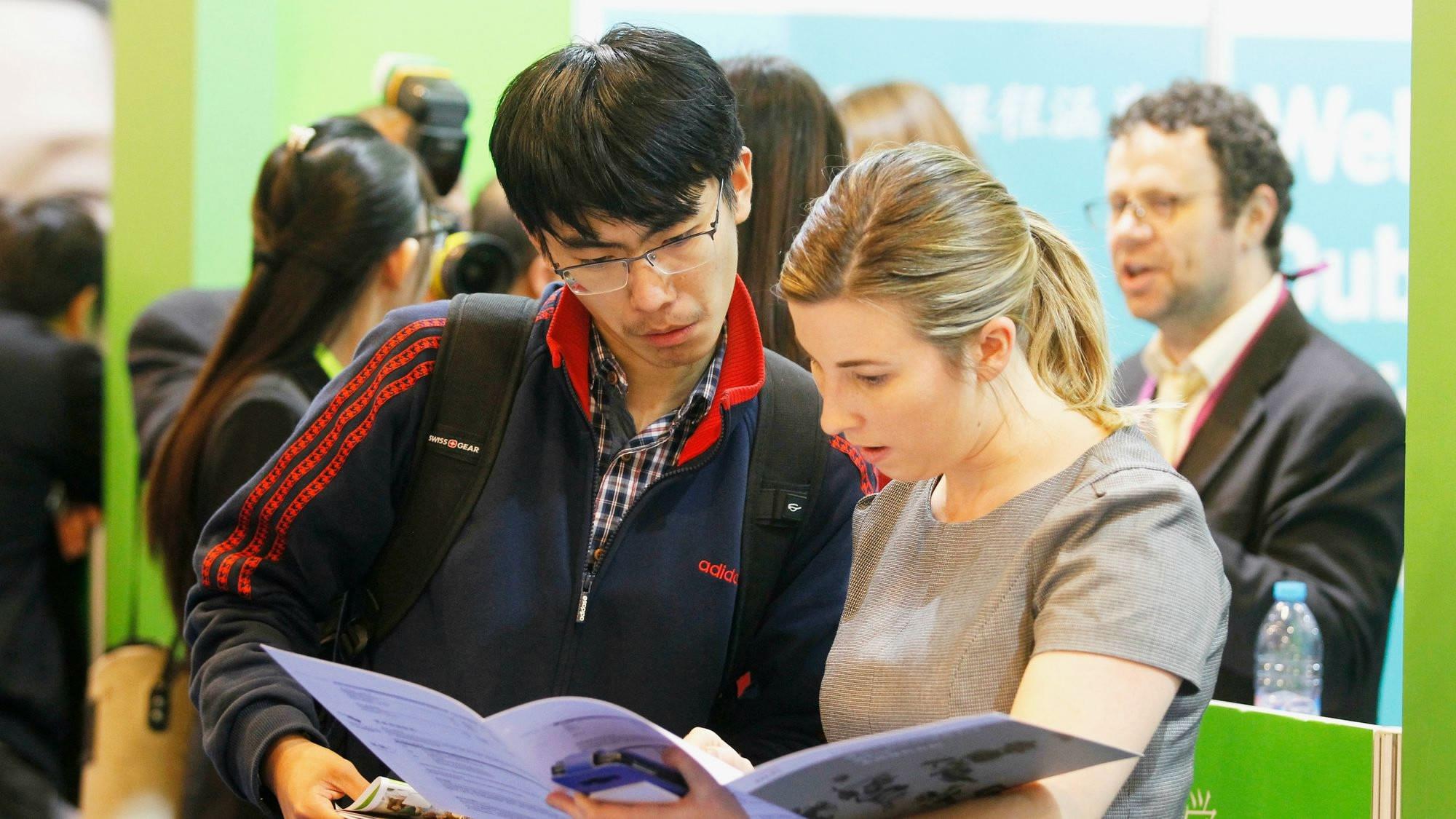 Overseas study procedures go digital in China