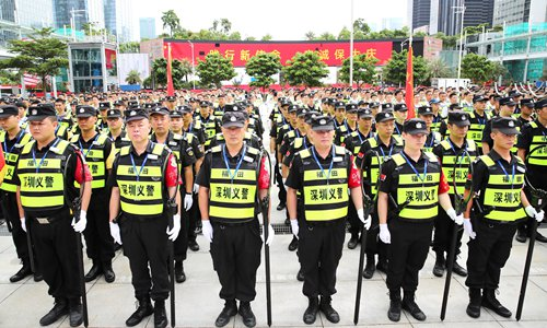 Shenzhen mobilizes 240,000 residents as volunteer police force to prevent terrorism and violence
