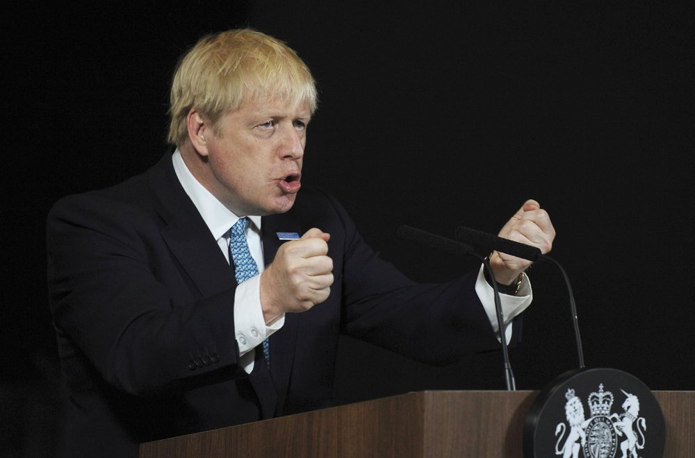 UK's Johnson is gambling his future on suspending Parliament