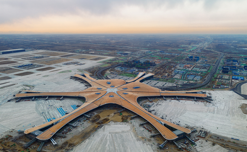 Daxing Int'l Airport Economic Zone announces 10 projects