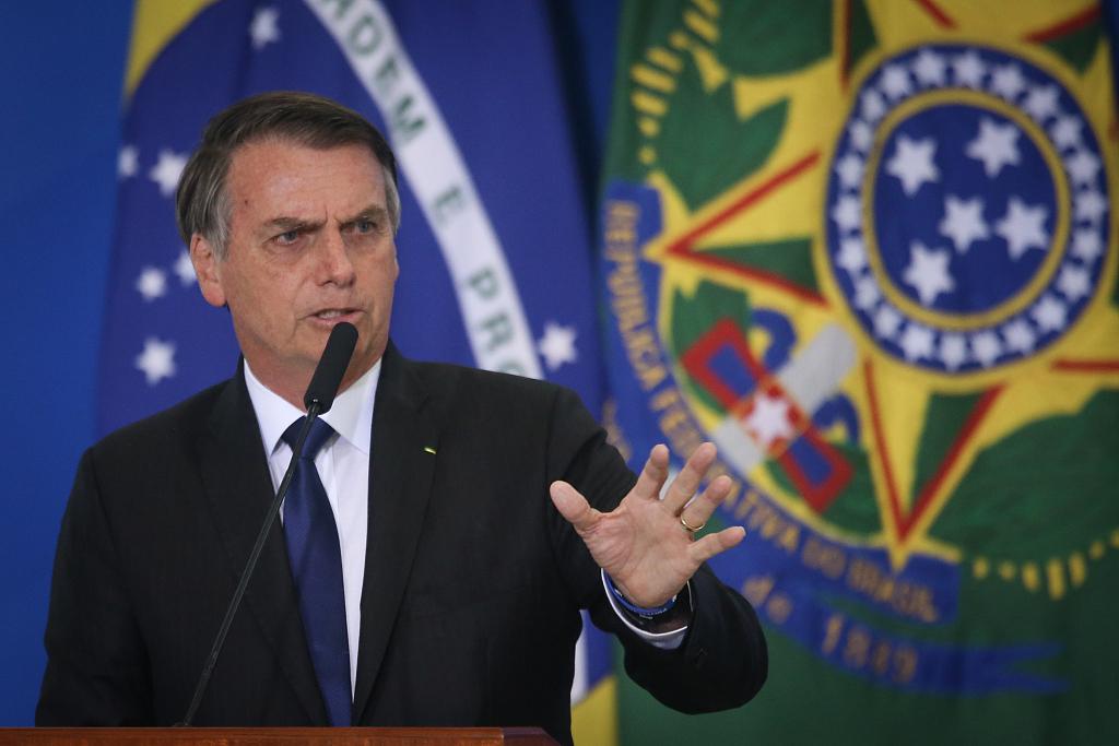 Brazil's Bolsonaro says GDP growth indicates development on right path