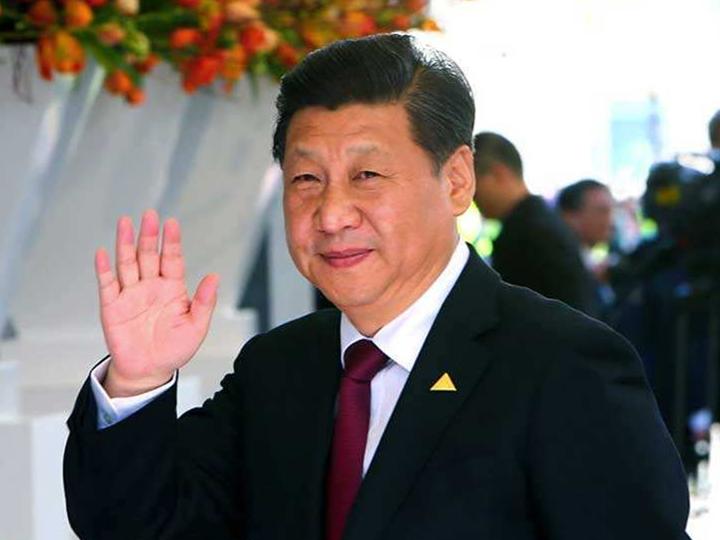 Xi meets FIBA President