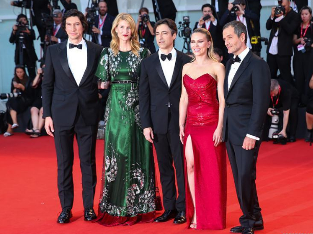 Red carpet for premiere of 'Marriage Story' at 76th Venice Int'l Film Festival