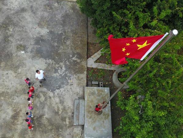 Students greet new semester across China