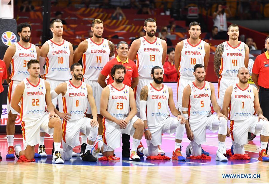 2019 FIBA World Cup: group C match between Spain, Tunisia