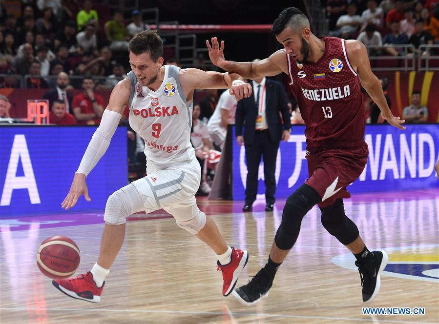 FIBA Basketball World Cup 2019: group A match between Poland , Venezuela