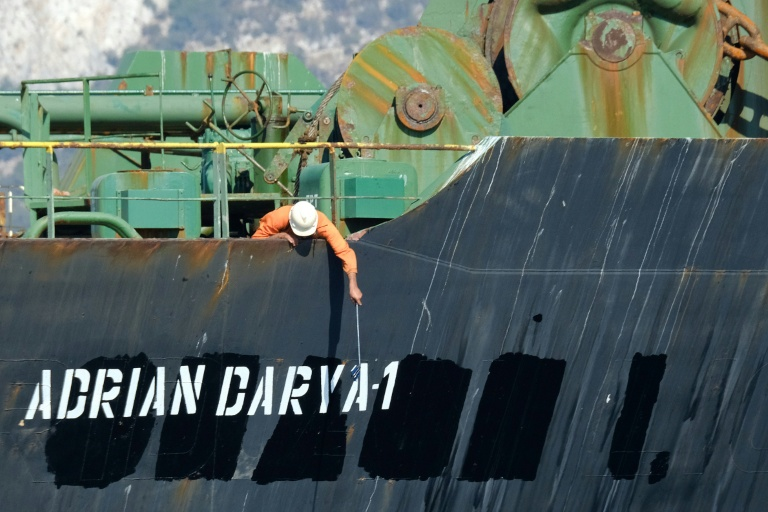 US blacklists Iran oil tanker in Mediterranean