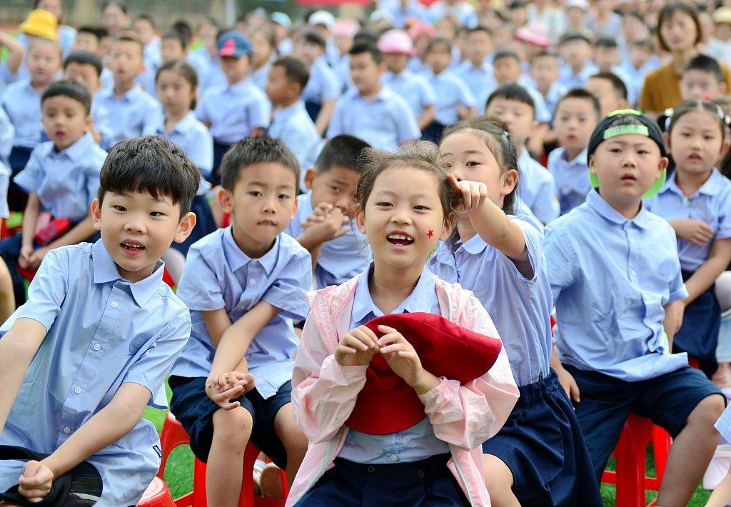 New semester starts in schools across China