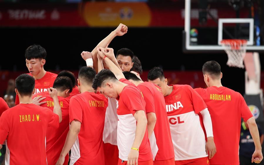 FIBA Basketball World Cup 2019: group A match between China, Cote d'Ivoire