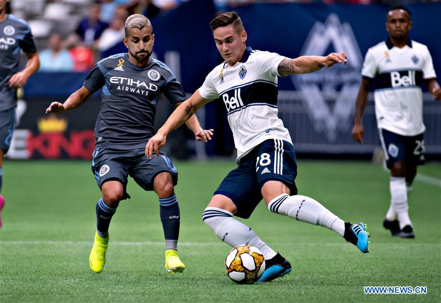 Regular season match between New York City FC and Vancouver Whitecaps FC at Major League Soccer
