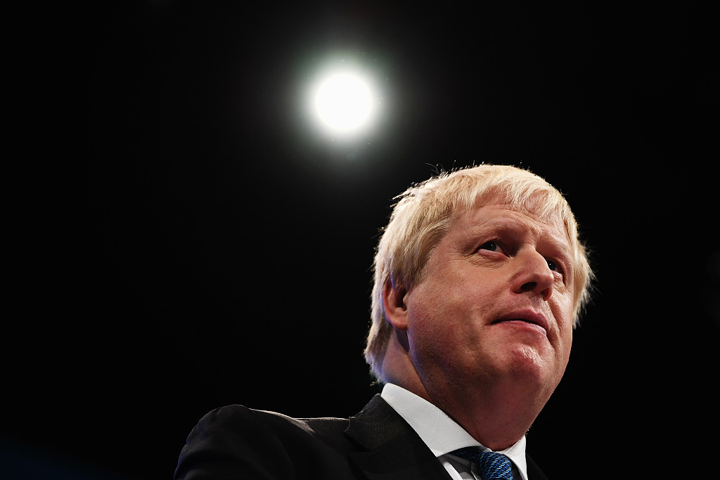UK's Johnson takes aim against opponents of Brexit plans