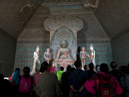 Documentary on cultural links between Mogao Grottoes and Angkor Wat launched