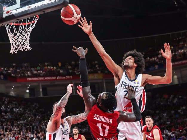 FIBA World Cup group G: France vs. Germany