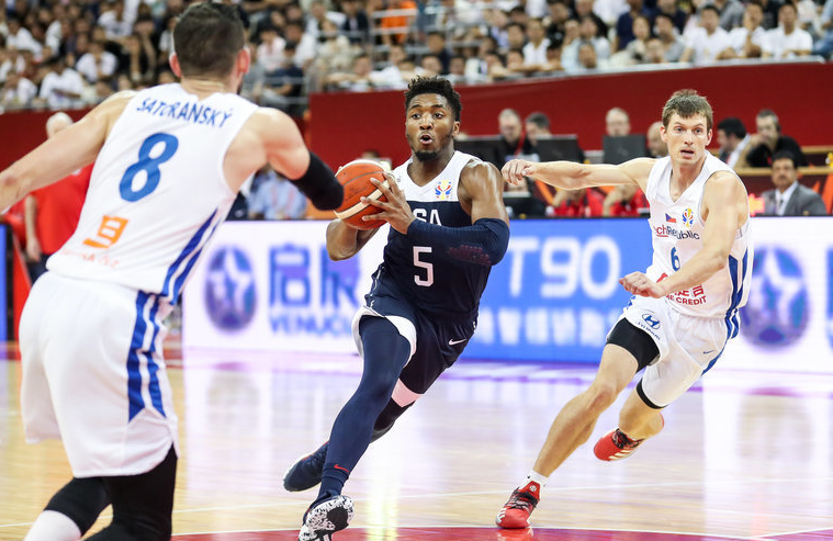 Defending champion US pockets opening win at FIBA Basketball World Cup