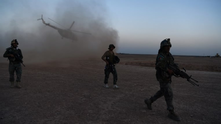 3 security forces, 10 militants killed in clashes in N. Afghanistan