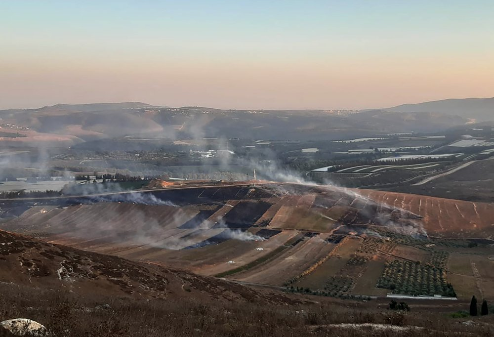 Israeli army says multiple targets hit by fire from Lebanon