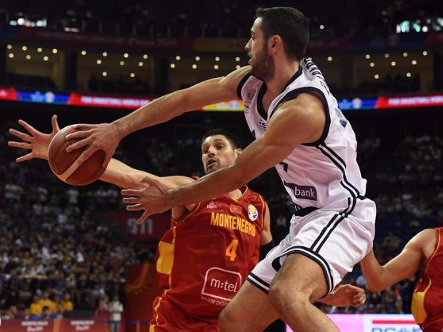2019 FIBA World Cup group F: Greece vs. Montenegro