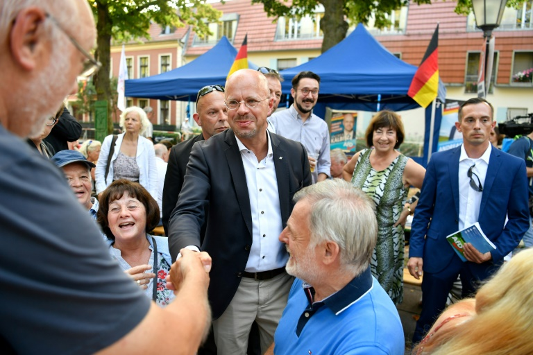 Anti-Merkel far-right AfD surges in east German state elections: exit polls