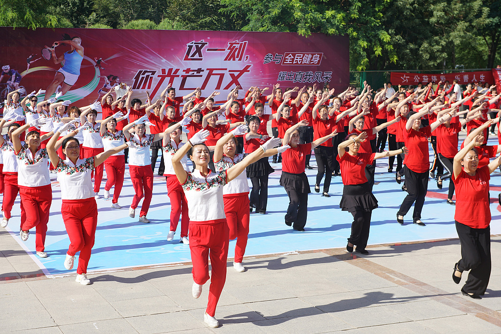 Why China can promote national fitness