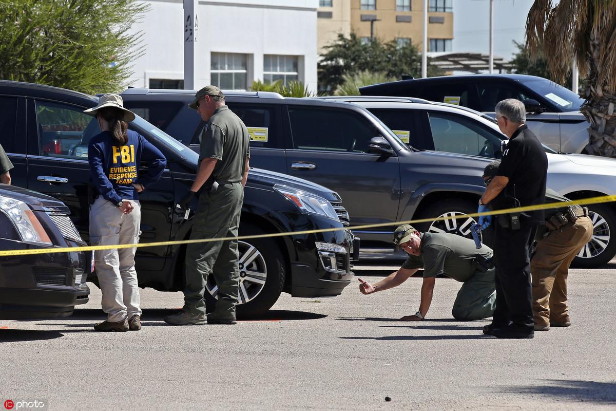 Gunman called 911, FBI in Texas shooting