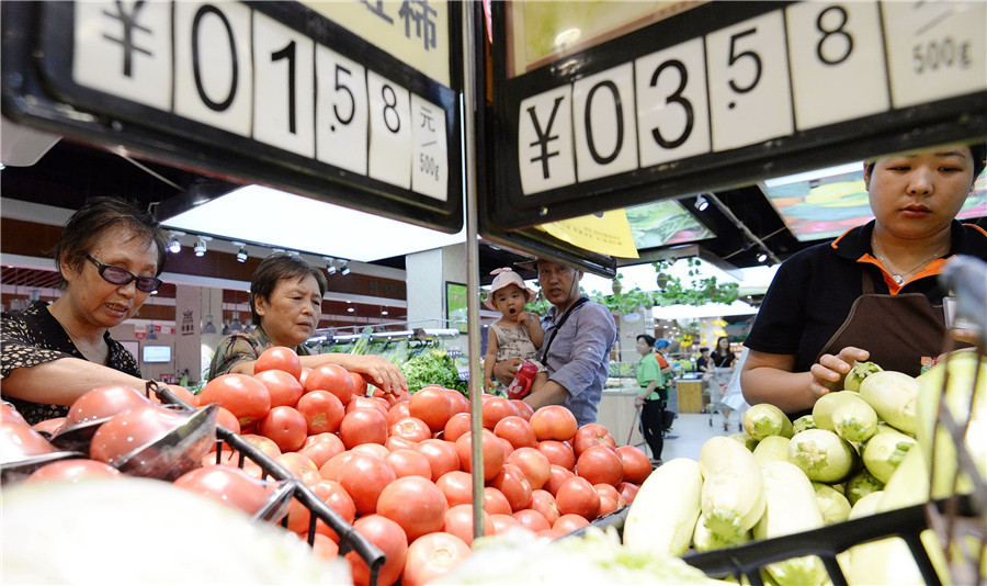 China Shouguang vegetable price index down 1.05%